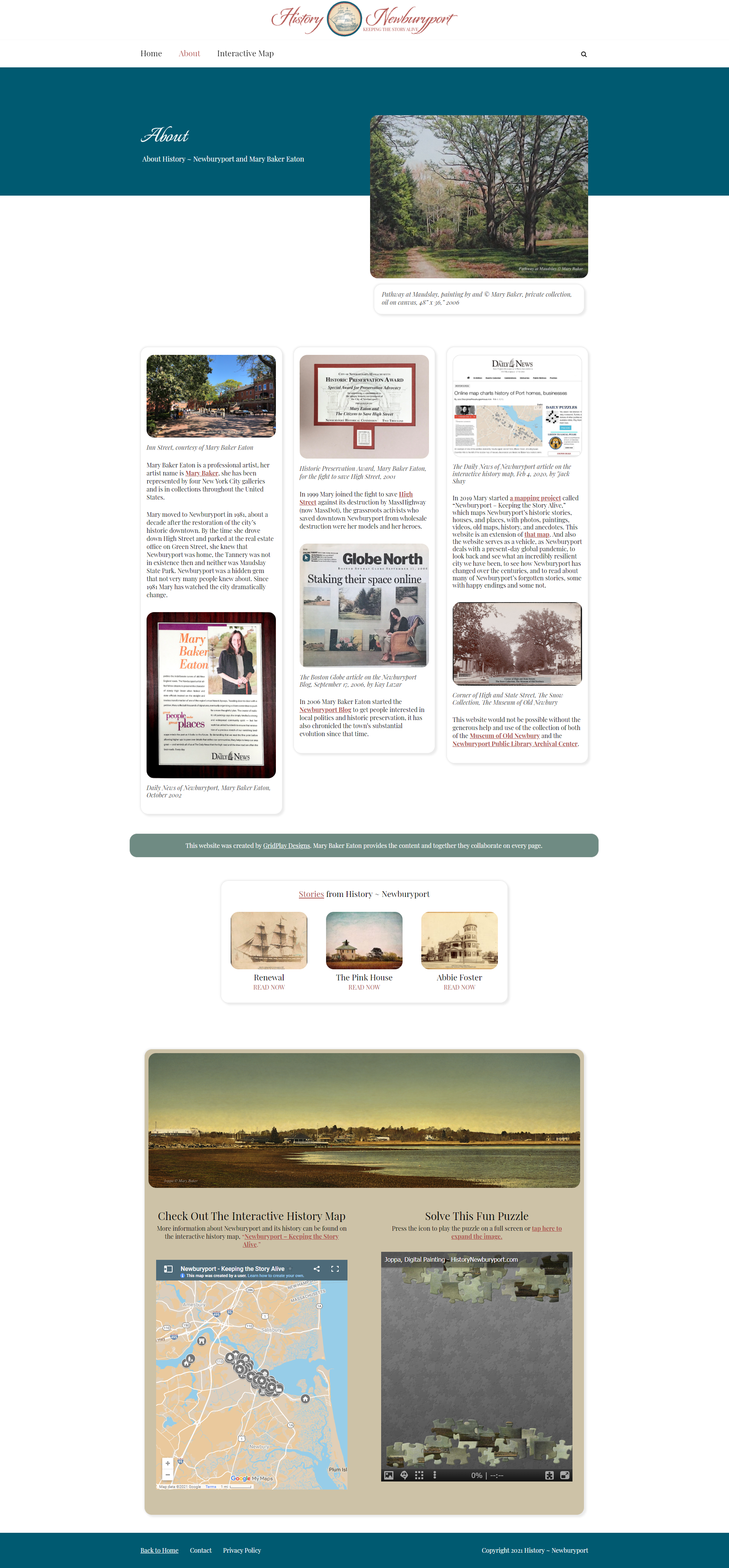History Newburyport About Page