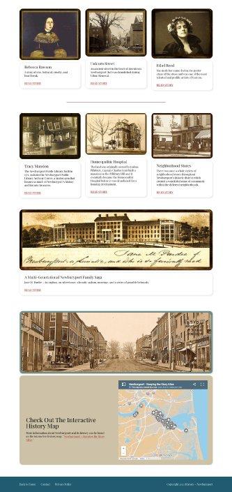 History Newburyport Second Half of Homepage