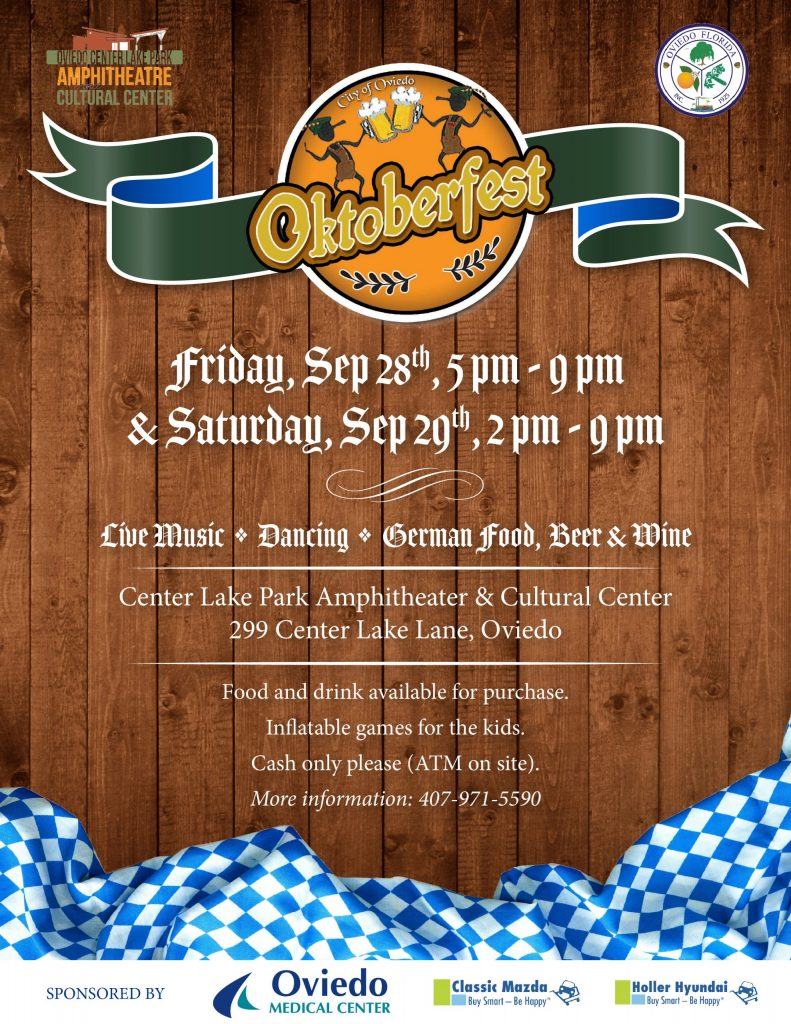 City of Oviedo Oktoberfest Flyer