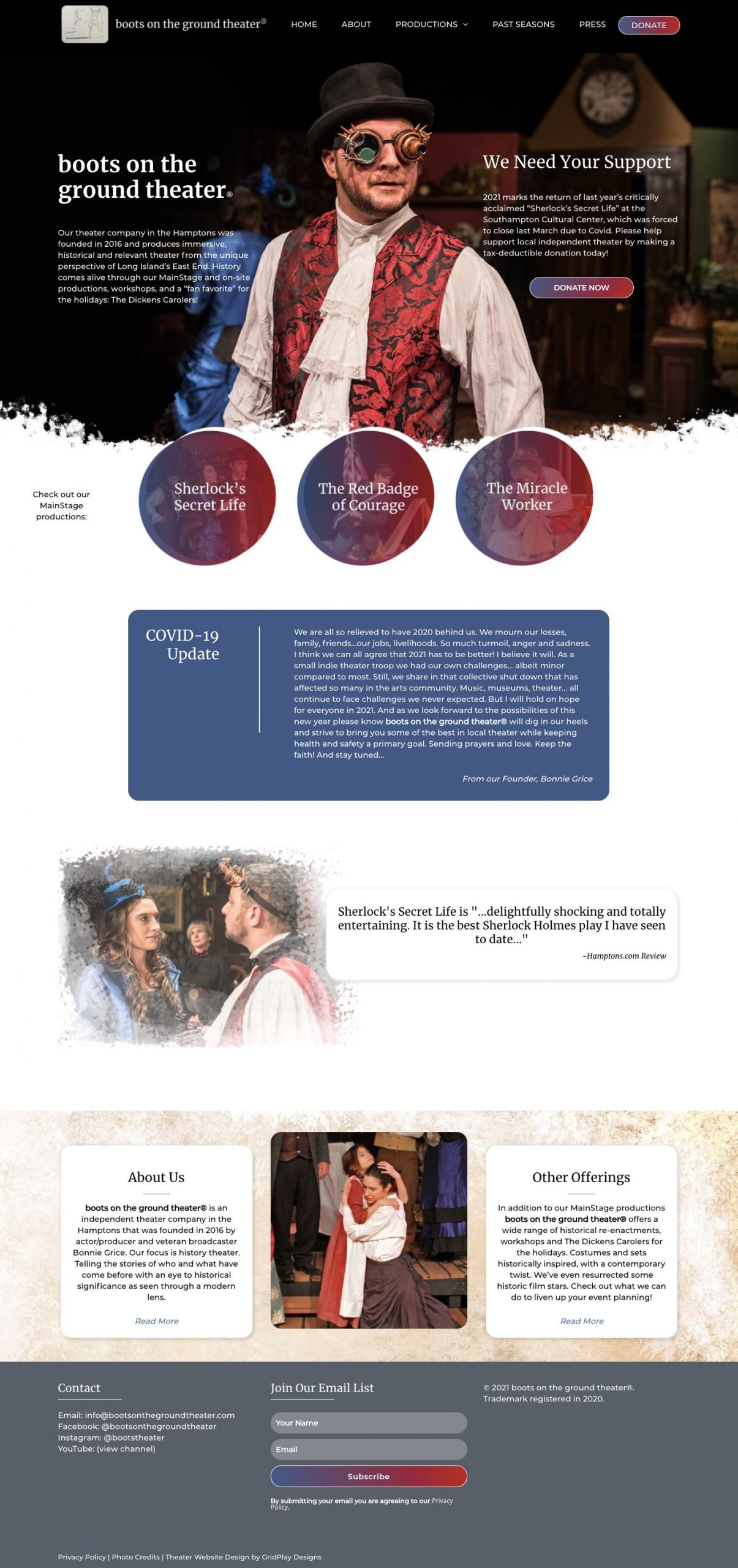BOTGT Homepage